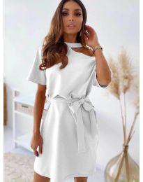 Φόρεμα - κώδ. 0006 - λευκό