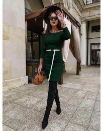 Φόρεμα - κώδ. 5190 - πράσινο