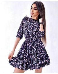 Φόρεμα - κώδ. 5910 - 2 - πολύχρωμο