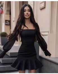 Φόρεμα - κώδ. 3605 - μαύρο