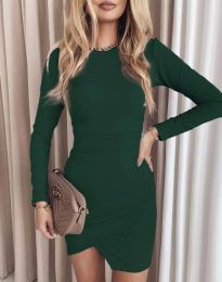Φόρεμα - κώδ. 2835 - πράσινο