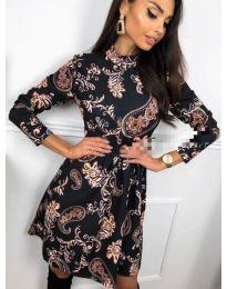 Φόρεμα - κώδ. 7272 - 4 - πολύχρωμο