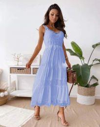 Φόρεμα - κώδ. 4672 - γαλάζιο