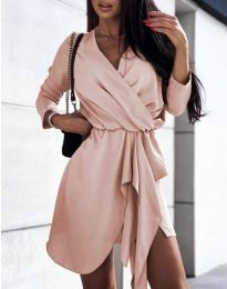 Φόρεμα - κώδ. 2879 - ροζ