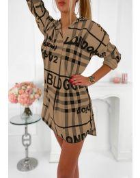 Φόρεμα - κώδ. 5456 Καφέ