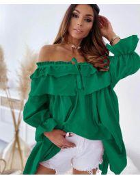 Φόρεμα - κώδ. 9865 - πράσινο
