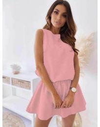 Φόρεμα - κώδ. 477 - ροζ