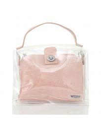 Τσάντα - κώδ. YF - D2025 - ροζ