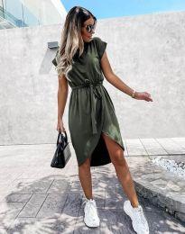 Φόρεμα - κώδ. 2074 - λαδί