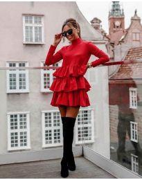 Φόρεμα - κώδ. 2951 - κόκκινο