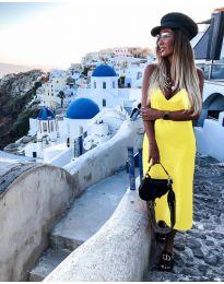 Φόρεμα - κώδ. 0005 - κίτρινο