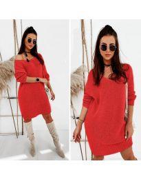 Φόρεμα - κώδ. 6457 - κόκκινο