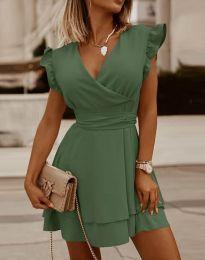 Φόρεμα - κώδ. 5654 - λαδί