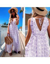 Φόρεμα - κώδ. 675 - μωβ