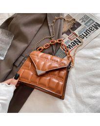 Τσάντα - κώδ. B535 - καφέ