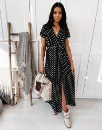 Φόρεμα - κώδ. 11725 - μαύρο