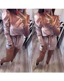 Φόρεμα - κώδ. 166 - ροζ