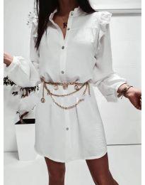 Φόρεμα - κώδ. 3433 - λευκό