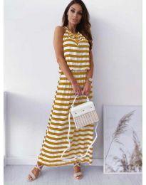 Φόρεμα - κώδ. 1515 - κίτρινο