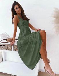 Φόρεμα - κώδ. 4807 - λαδί