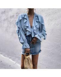 Μπλούζα - κώδ. 9051 - γαλάζιο