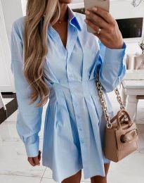 Φόρεμα - κώδ. 8141 - γαλάζιο