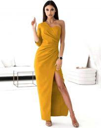 Φόρεμα - κώδ. 4511 - μουσταρδί