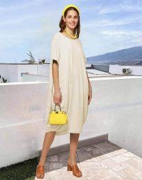 Φόρεμα - κώδ. 5554 - μπεζ
