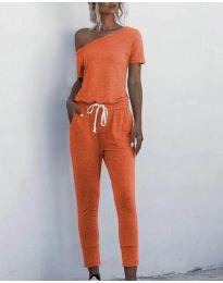 Ολόσωμη φόρμα - κώδ. 510 - πορτοκαλί