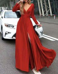 Φόρεμα - κώδ. 3428 - κόκκινο