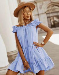 Φόρεμα - κώδ. 6969 - γαλάζιο