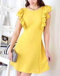 Φόρεμα - κώδ. 7111 - κίτρινο
