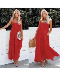 Φόρεμα - κώδ. 551 - κόκκινο