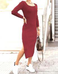 Φόρεμα - κώδ. 2326 - μπορντό