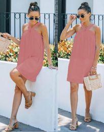Φόρεμα - κώδ. 9103 - πούδρα