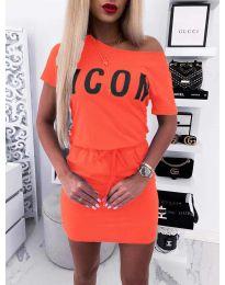 Φόρεμα - κώδ. 9905 - κοραλί