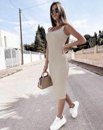 Φόρεμα - κώδ. 5964 -  σαμπανιζέ