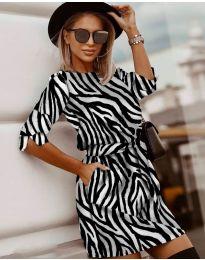 Φόρεμα - κώδ. 3060 - 3 - πολύχρωμο