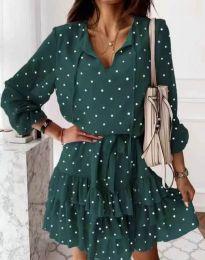 Φόρεμα - κώδ. 7113 - πράσινο