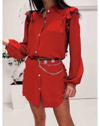 Φόρεμα - κώδ. 3433 - κόκκινο