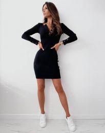 Φόρεμα - κώδ. 1610 - μαύρο