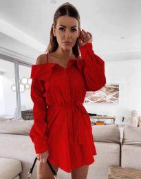 Φόρεμα - κώδ. 1457 - κόκκινο