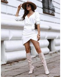 Φόρεμα - κώδ. 395 - λευκό