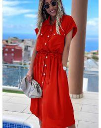 Φόρεμα - κώδ. 0014 - κόκκινο
