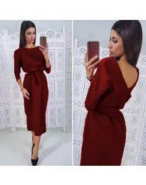 Φόρεμα - κώδ. 974 - μπορντό