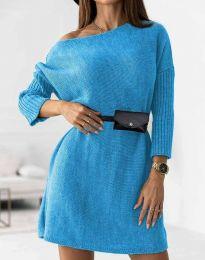 Φόρεμα - κώδ. 5142 - γαλάζιο