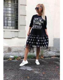 Φόρεμα - κώδ. 5467 - μαύρο