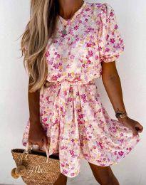 Φόρεμα - κώδ. 6985 - πολύχρωμο