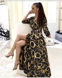 Φόρεμα - κώδ. 4489 - 4 - μαύρο