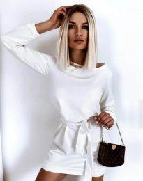 Φόρεμα - κώδ. 12038 - λευκό